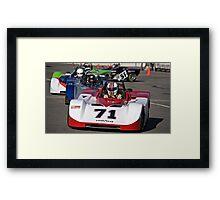 SCCA SRF Racing Event 3 Framed Print
