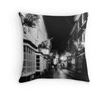 Shambles by night in infrared Throw Pillow
