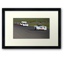 SCCA SRF Racing Event 2 Framed Print