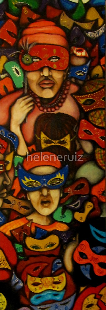 part II) what mask r u wearing today? by helene ruiz