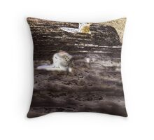 Three nails Throw Pillow