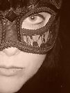 The Other Half of the Mask - Sepia by Anthea  Slade