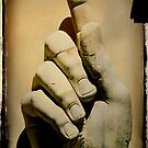 A big hand for.... by Catherine Hadler