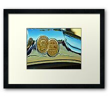 Chief of the Sixes Framed Print