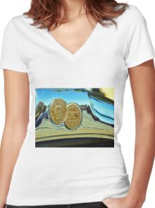 Chief of the Sixes Women's Fitted V-Neck T-Shirt