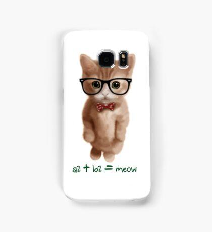 Algebra CAT Samsung Galaxy Case/Skin