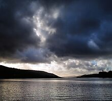 Storm dragon over Coniston water by clickinhistory