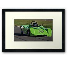 SCCA Racecar SRF 39 Framed Print
