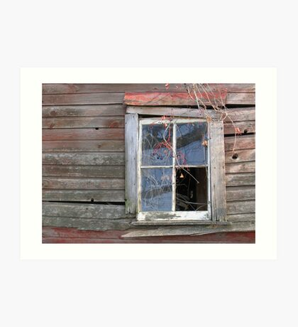 Couldn't stand the Pane.... Art Print