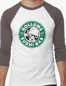 Gollums Sushi Bar Men's Baseball ¾ T-Shirt