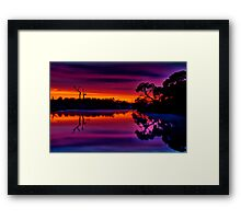 """Misty Magical Morning"" Framed Print"