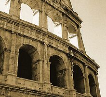Coliseum - Rome by Chelsea Brewer