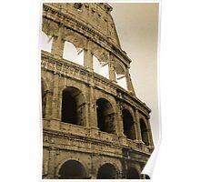 Coliseum - Rome Poster