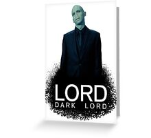 Dark Lord Brand Greeting Card