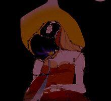Sita in tears by Parimi