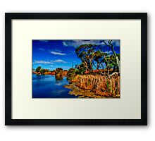 """Creekside on a Summer Afternoon"" Framed Print"
