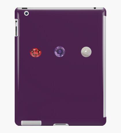 Garnet, Amethyst, and Pearl  iPad Case/Skin