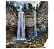 Fall Creek Falls from Below Poster