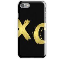 XO Gold Black iPhone Case/Skin