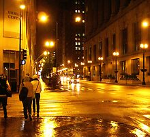 Windy City Lights  by Nikolena Parker