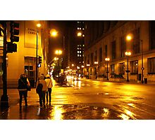 Windy City Lights  Photographic Print
