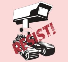 Resist Surveillance Kids Clothes