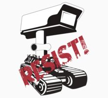 Resist Surveillance Kids Tee