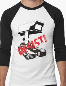 Resist Surveillance Men's Baseball ¾ T-Shirt