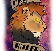Pride Ruler- Lion Space Design by BusinessWolf