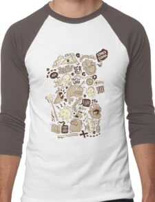 Salty Sea Men's Baseball ¾ T-Shirt
