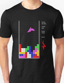 The last tetris level Unisex T-Shirt