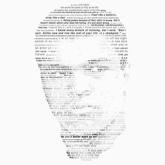 TShirtGifter presents: Rumble Young Man Rumble - Ali T-Shirt