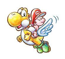 Yoshi & Baby Mario by nap3r