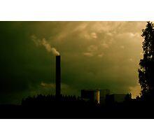 Green Skies Photographic Print