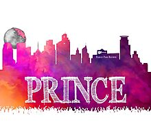 Prince Rogers Nelson - Minneapolis purple Photographic Print
