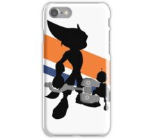 Ratchet & Clank Silhouette iPhone Case/Skin