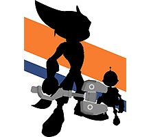 Ratchet & Clank Silhouette Photographic Print