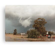 Storm at Albert © Vicki Ferrari Photography Canvas Print