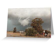 Storm at Albert © Vicki Ferrari Photography Greeting Card