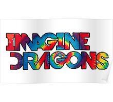 Imagine Dragons -Tie Dye  Poster