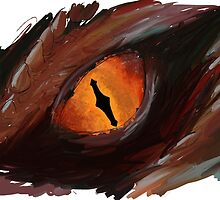 Smaug Eye - The Hobbit by Eyda