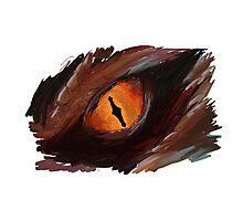 Smaug Eye - The Hobbit Photographic Print