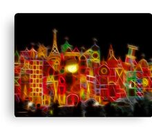 Fantasy Colored World Canvas Print
