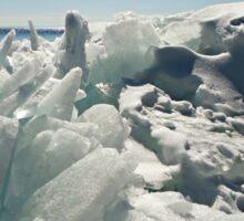Big Lake, Big Ice Sticker