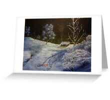 """Frozen Serenity"" (2014) Greeting Card"