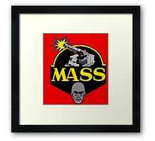 M.A.S.S. The Ultimate Weapon Framed Print