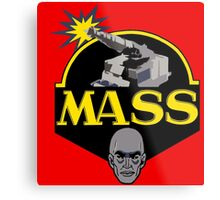 M.A.S.S. The Ultimate Weapon Metal Print