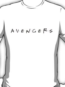 Avengers/Friends T-Shirt