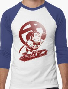 Suppaman Men's Baseball ¾ T-Shirt