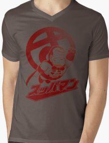 Suppaman Mens V-Neck T-Shirt
